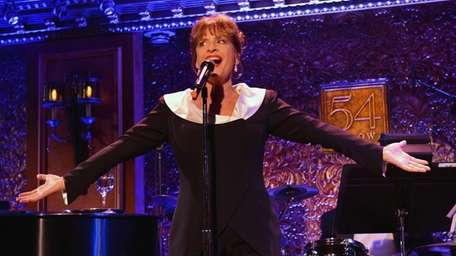 Singer/actress Patti LuPone performs at the 54 Below