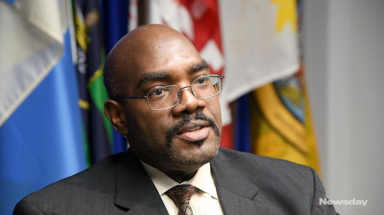 Suffolk County Health commissioner nomineeGregson Pigott sat down