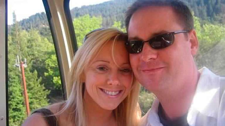 Jennifer and Brian Byrne as seen in a