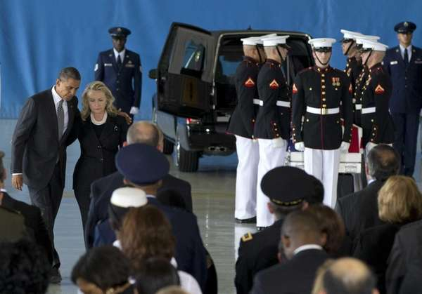 President Barack Obama and Secretary of State Hillary