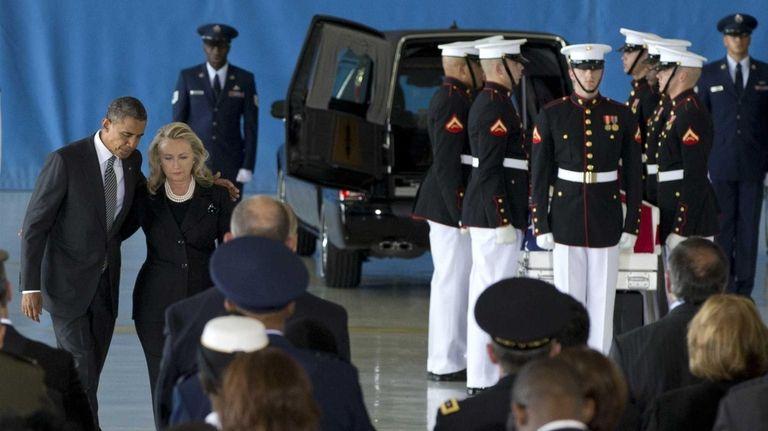 President Barack Obama and Secretary of State Hillary