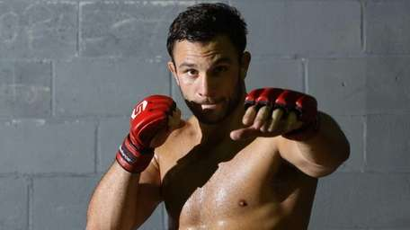 MMA fighter Gian Villante of Levittown poses for