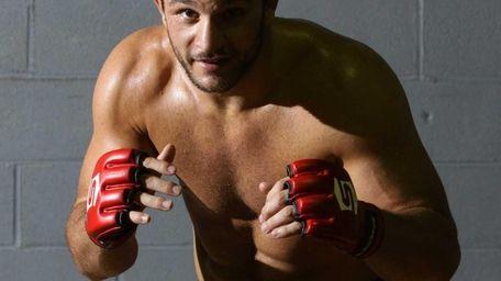 Mixed martial artist Gian Villante poses for a