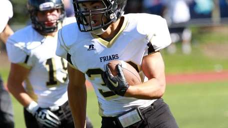 Touchdown run by St. Anthony's Brendan Femiano during
