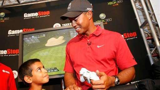 In this photo provided by Xbox 360, Tiger