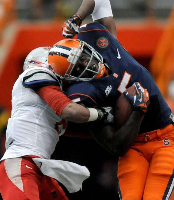 Stony Brook Syracuse's Marcus Sales tries to get