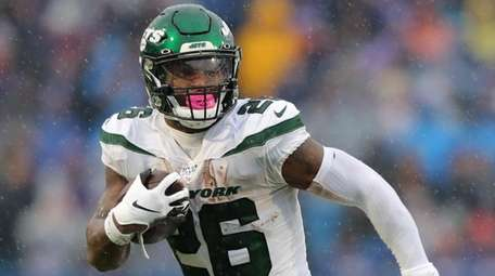 Le'Veon Bell of the Jets rushed for only