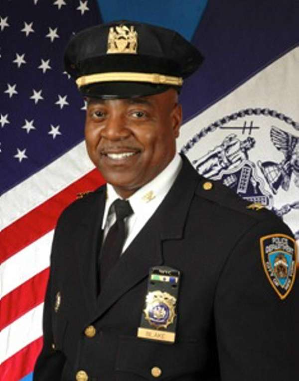 The NYPD's top counterterrorism boss, Michael Blake.