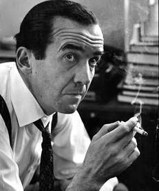 Legendary broadcast journalist Edward R. Murrow.