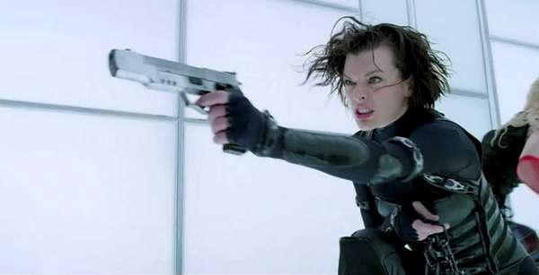 Milla Jovovich in quot;Resident Evil: Retribution.quot;