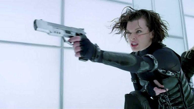 Milla Jovovich in