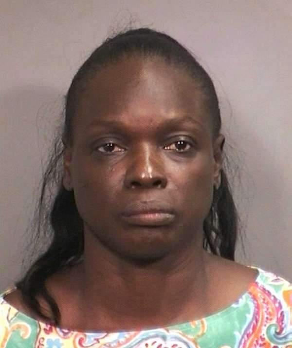 Alison Gahagan, 47, of Elmont faces charges of
