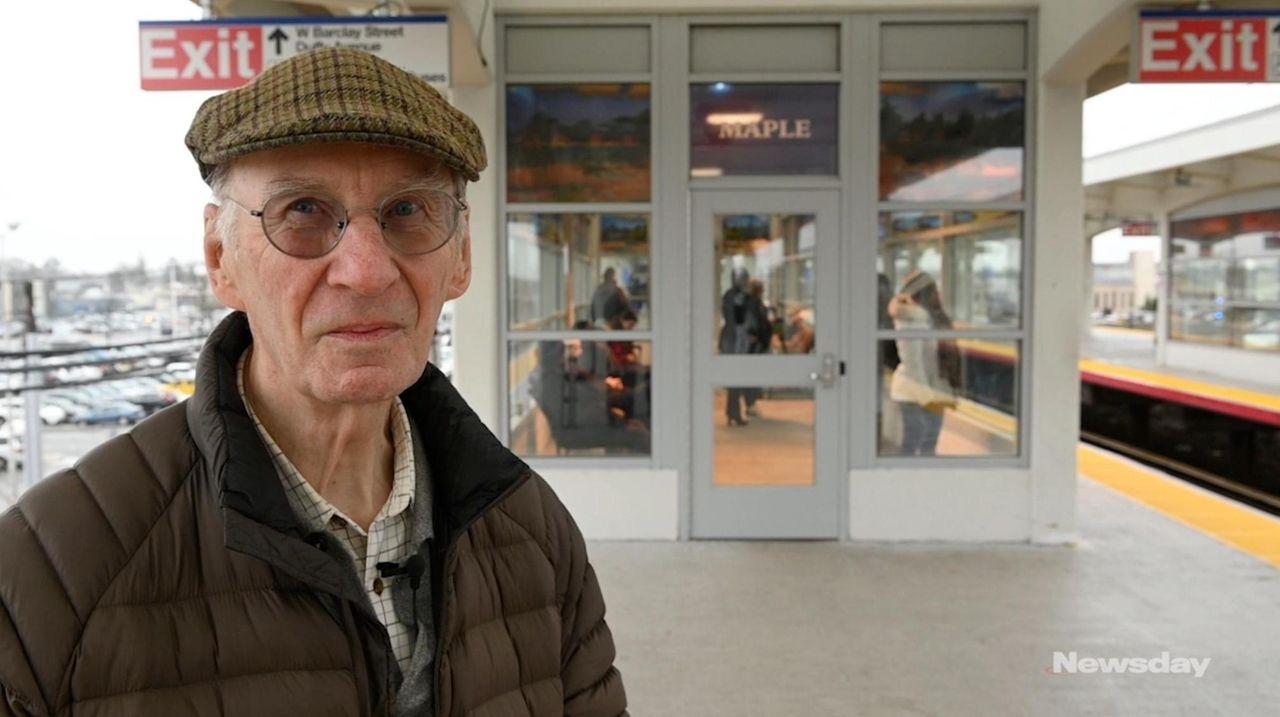 On Monday, Sag Harbor artist Roy Nicholson spoke