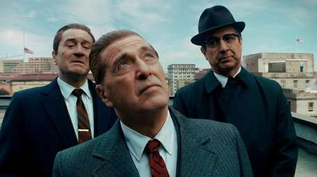 Frank Sheeran (Robert De Niro), Jimmy Hoffa (Al