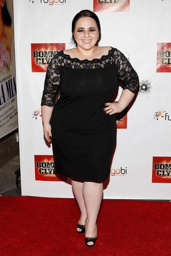 Actress Nikki Blonsky attends the Broadway opening night