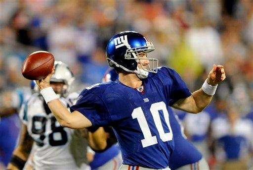 Eli Manning and the Giants take on the