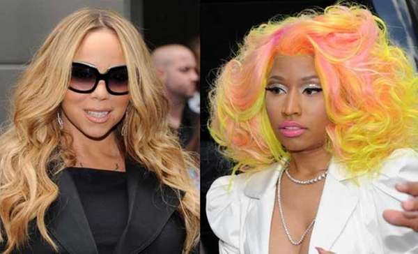 Mariah Carey and Nicki Minaj