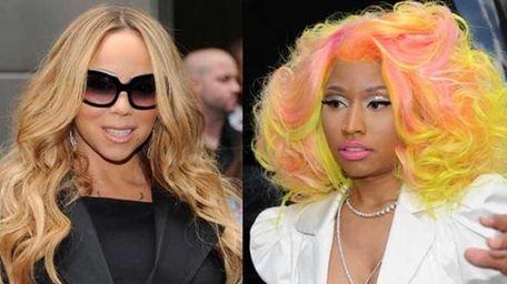 Mariah Carey and Nicki Minaj