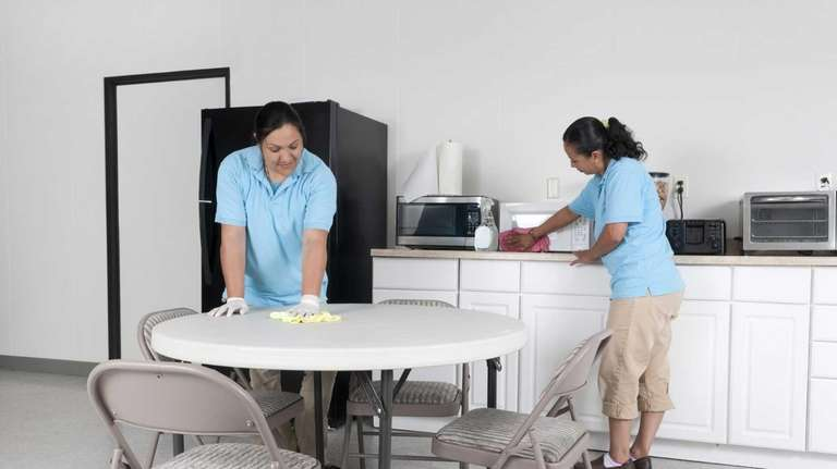 Excellent Help Wanted Cleanliness In Work Breakrooms Newsday Home Remodeling Inspirations Cosmcuboardxyz