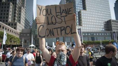 On the one year anniversary of the Occupy