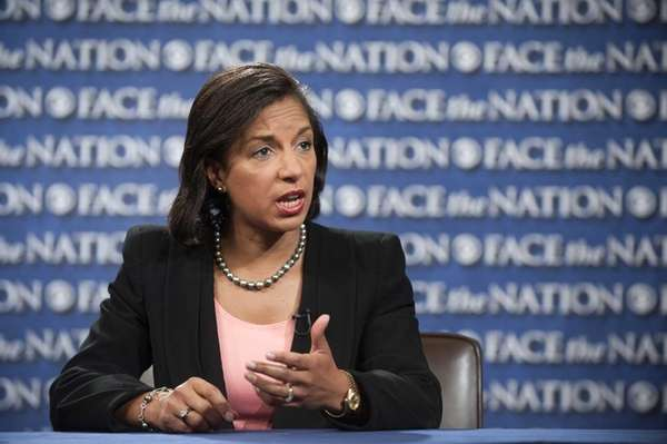 Susan Rice, Ambassador to the U.N., appears on