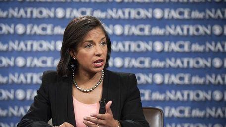 Susan Rice, Ambassador to the U.N., appears on