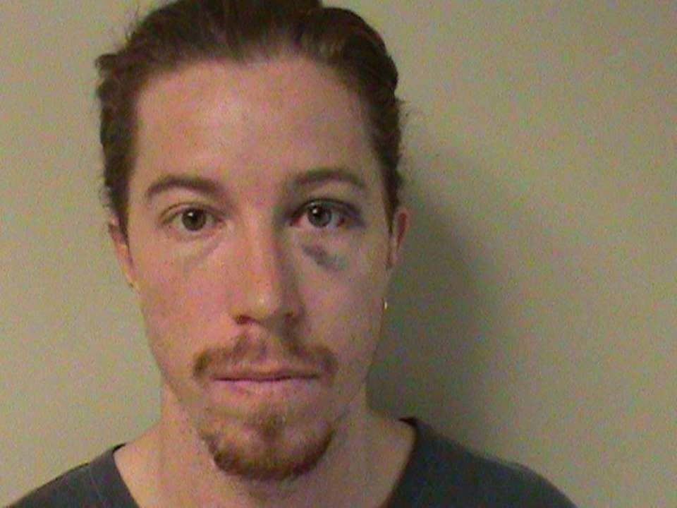 Olympic gold medalist Shaun White is seen in