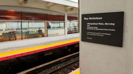 Artist Roy Nicholson's latest installation is a complement