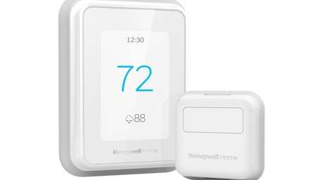 The Honeywell Home T9 thermostat with room sensors