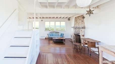 The home has two bedrooms, 2½ baths and
