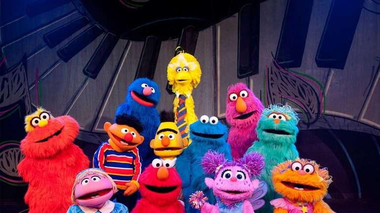 Sesame Street Live is playing at the Nassau