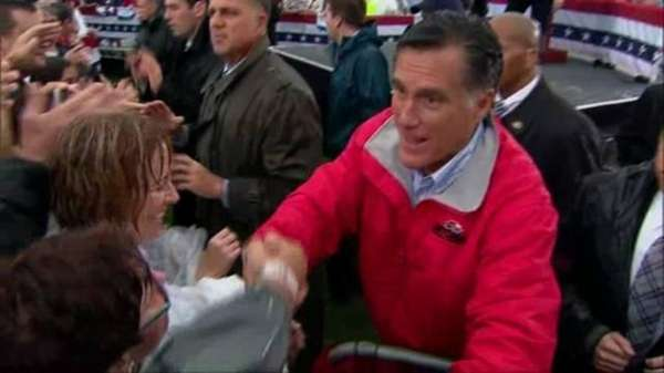 Mitt Romney's campaign is trying to contain the