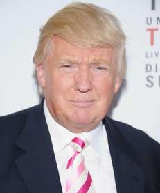 "Donald Trump attends the ""Mike Tyson: Undisputed Truth"""