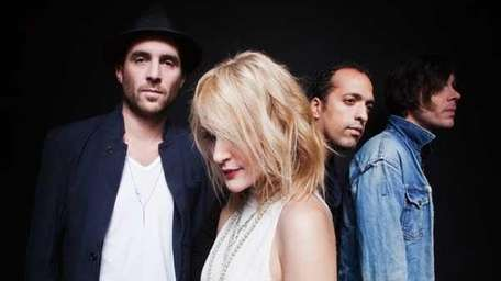 Metric, featuring Emily Haines, second from left.