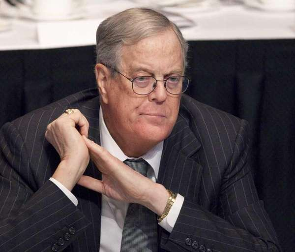 David Koch, executive vice president of Koch Industries,