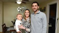 Kierstin and Jimmy Wynne with their 11-month-old baby,