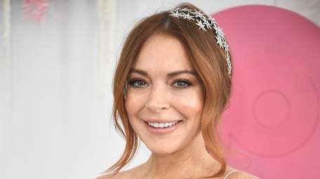 Lindsay Lohan attends the Network 10 marquee event