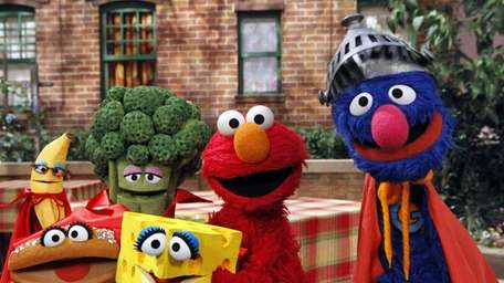 Elmo is the star of an undated scene
