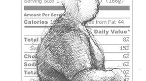 An illustration on obesity.