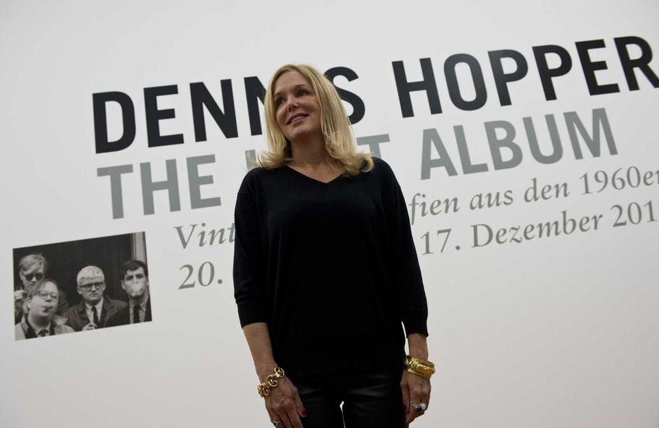 Dennis Hopper's daughter Marin Hopper during a press