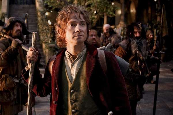 Martin Freeman as Bilbo Baggins in quot;The Hobbit: