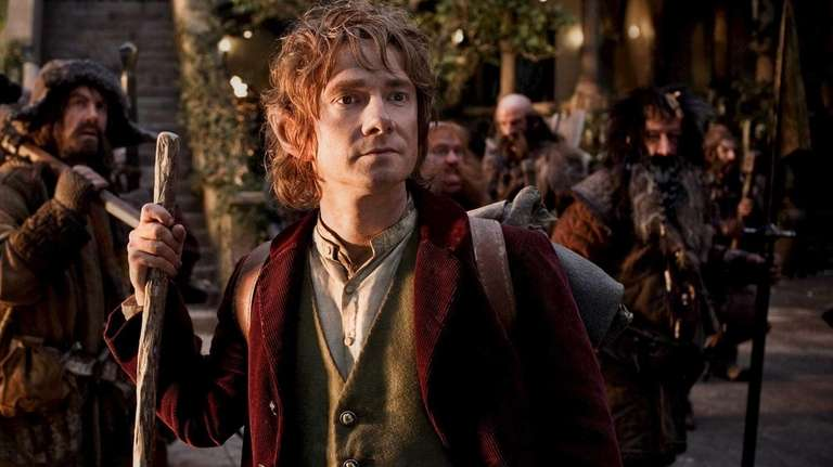 Martin Freeman as Bilbo Baggins in