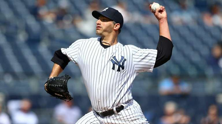 Andy Pettitte gave up four hits and no