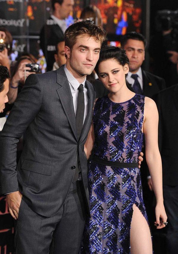 Robert Pattinson and Kristen Stewart arrive at the