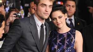 Robert Pattinson and Kristen Stewart arrive at the