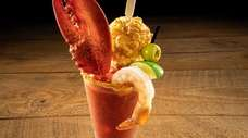 The Lobster Claw Bloody Mary, a new cocktail