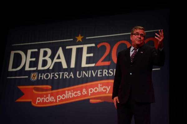 Former Florida Governor Jeb Bush discusses speaks to