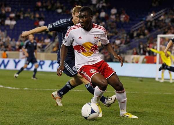 Lloyd Sam of the New York Red Bulls,