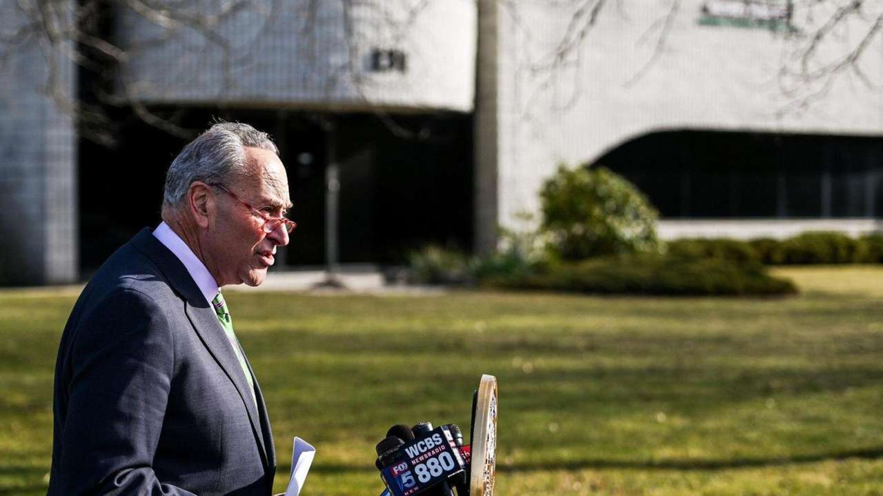 Sen. Chuck Schumer called on federal agencies to