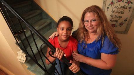 Dawn Espinoza, 33, and daughter Keara, 10. They're